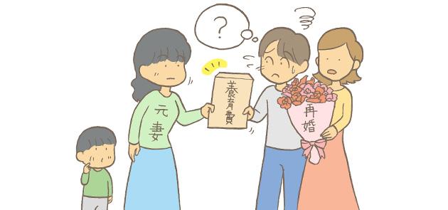 再婚した場合の養育費