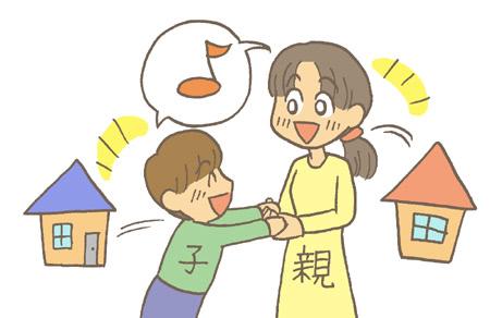 別居中でも親子の面会は出来る?