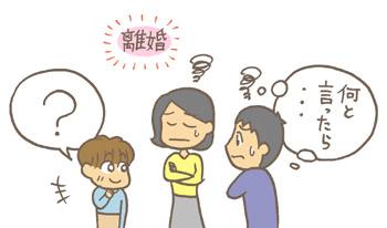 子どもに離婚をどう説明